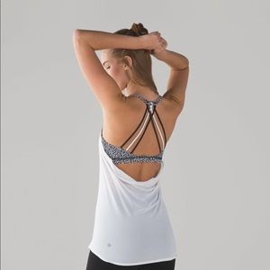 Lululemon Lighten Up Tank Bra Strappy
